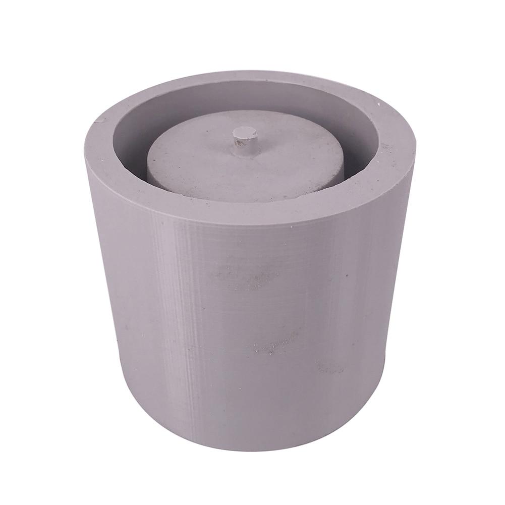 Rond Ciment Pot De Fleur Silicone Moule Décoration de La Maison Artisanat Plantes Succulentes Béton Planteur Vase Moules