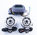 Motorbike Motorcycle Speaker Stereo Remote Control MP3 Music Player LCD Display Screen