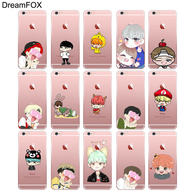Kawaii Cute BTS iPhone Cases