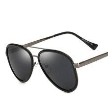 ASUOP Nuevo Metal gafas de Sol Polarizadas Hombres Mujeres Diseñador de la Marca Gafas de Espejo Gafas de Sol de Moda Gafas Gafas de Sol Clásico