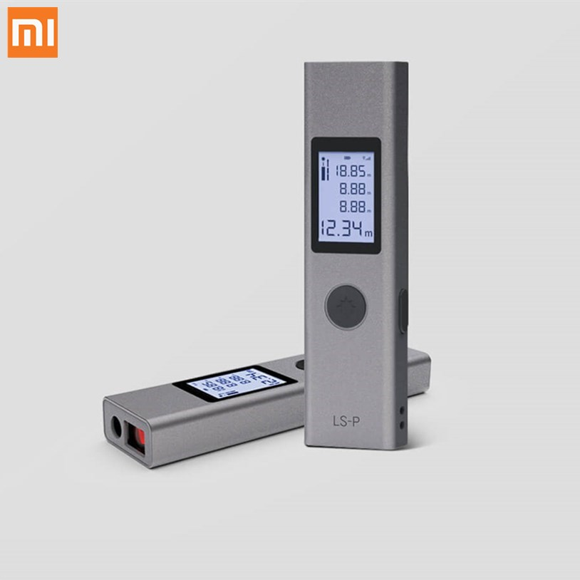 Xaomi Duka 40m Laser Range Finder LS-P USB Flash Charging Range Finder High Precision Measurement Rangefinder