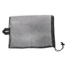 Быстросохнущая Сетчатая Сумка для плавания и дайвинга с завязками для хранения ластов для водного спорта