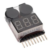 Top Selling New Arrival Special Offer Li ion Li Fe LiPo Battery akku Tester Low Voltage