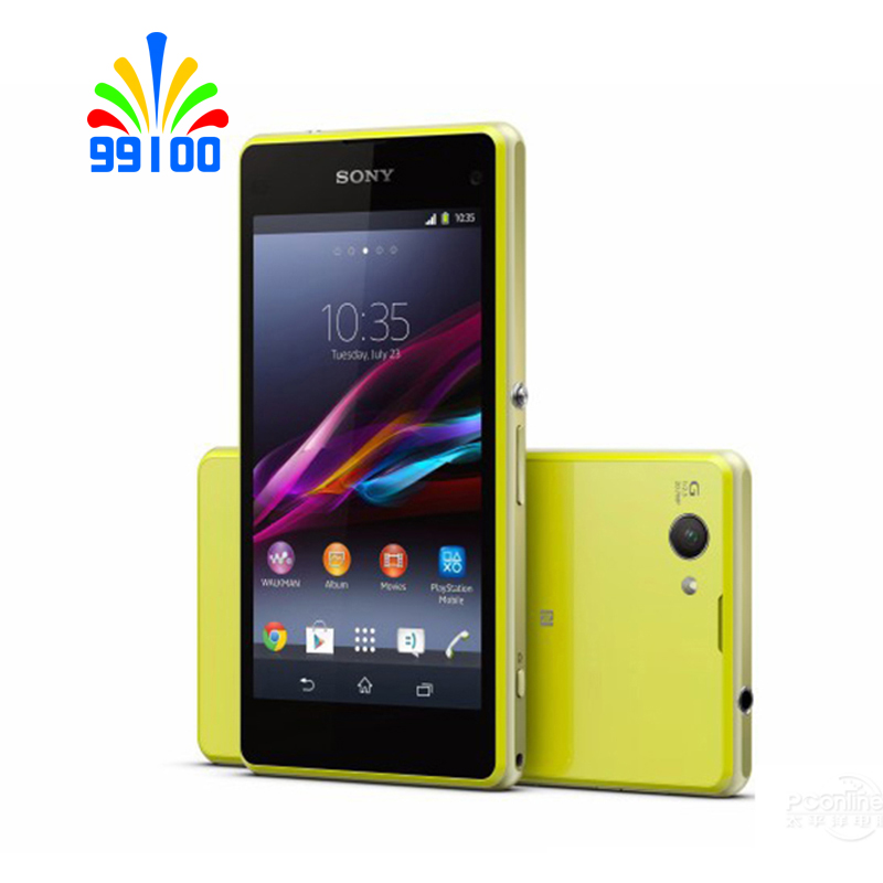 "Original Sony Xperia Z1 compacto D5503 4,3 ""desbloqueado teléfono móvil GSM 3G y 4G Android Quad  core WIFI GPS 2 GB RAM 16 GB ROM-in Los teléfonos móviles from Teléfonos celulares y telecomunicaciones on AliExpress - 11.11_Double 11_Singles' Day 1"