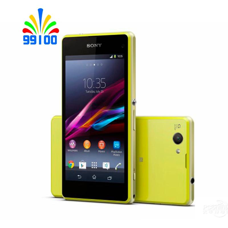 """Oryginalny Sony Xperia Z1 kompaktowy D5503 4.3 """"odblokowany telefon komórkowy GSM 3G i 4G z systemem Android Quad  rdzeń WIFI GPS 2 GB pamięci RAM, 16 GB pamięci ROM w Telefony Komórkowe od Telefony komórkowe i telekomunikacja na AliExpress - 11.11_Double 11Singles' Day 1"""