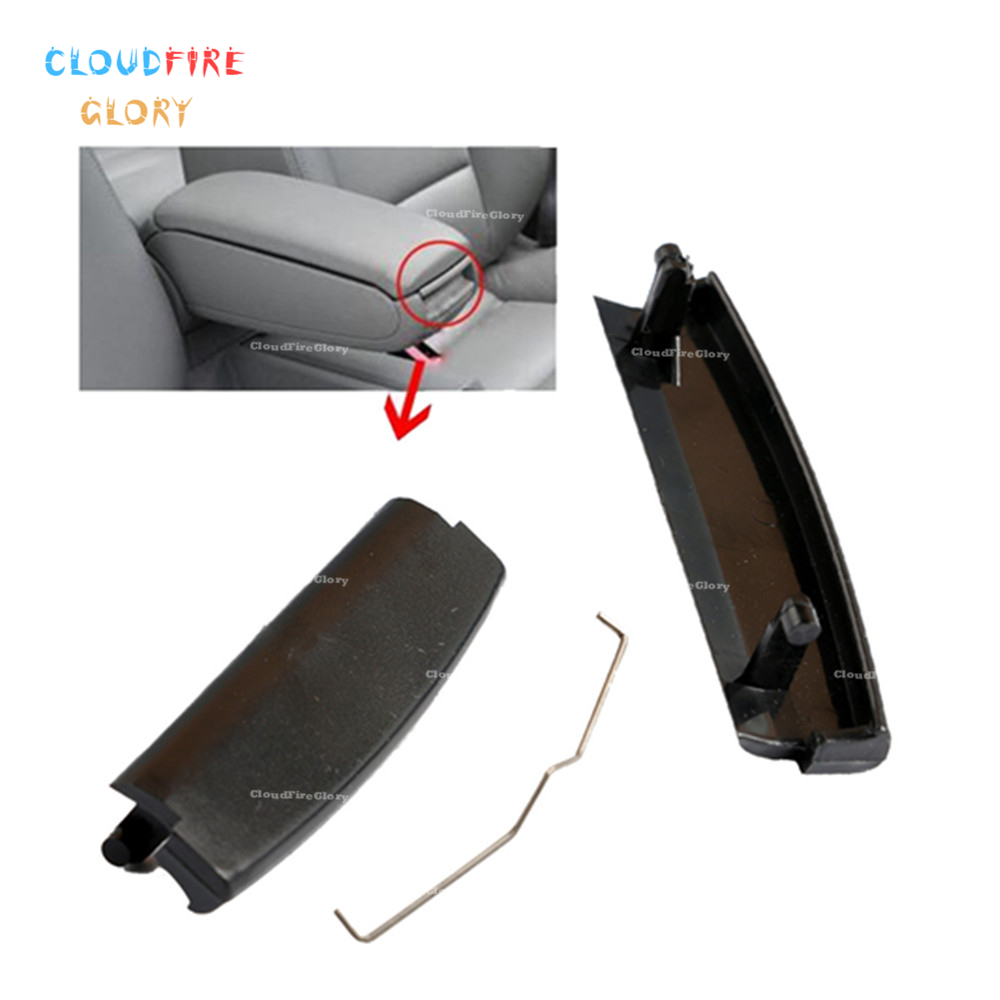 4B0864245AG Black Car Inner Console Center Armrest Latch Lock Lid Clip For Audi A4 S4 A6 C5 2001 2002 2003 2004 2005 image