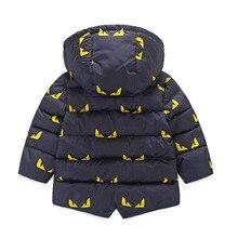 Hooded Baby Boys Warm Jacket