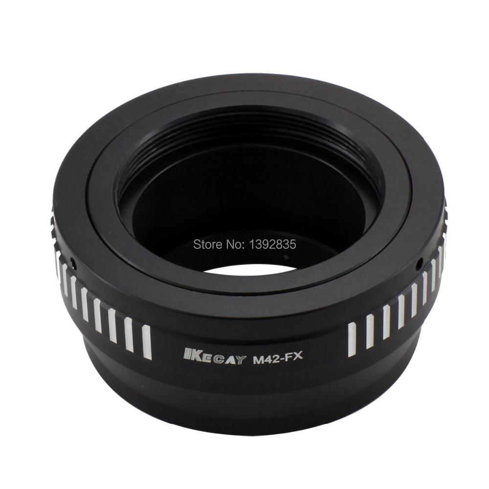 Adaptador de lente Kecay de alta precisión M42-FX para lente de - Cámara y foto - foto 2