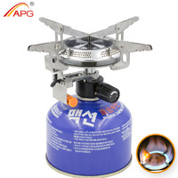 APG Outdoor Camping Gas Stoves And Equipped With Fire Starter Gas Burners