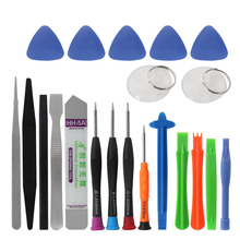 все цены на BURUO 21 in 1 Mobile Phone Repair Tools Kit Spudger Pry Opening Tool Screwdriver Set for iPhone X 8 7 6S 6 Plus Hand Tools Set онлайн