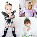 Cute Baby Girls Lace Full Sleeve Romper Autumn Warm Long Sleeve barboteuse infant Cotton Jumpsuit Romper Kid Girls H592