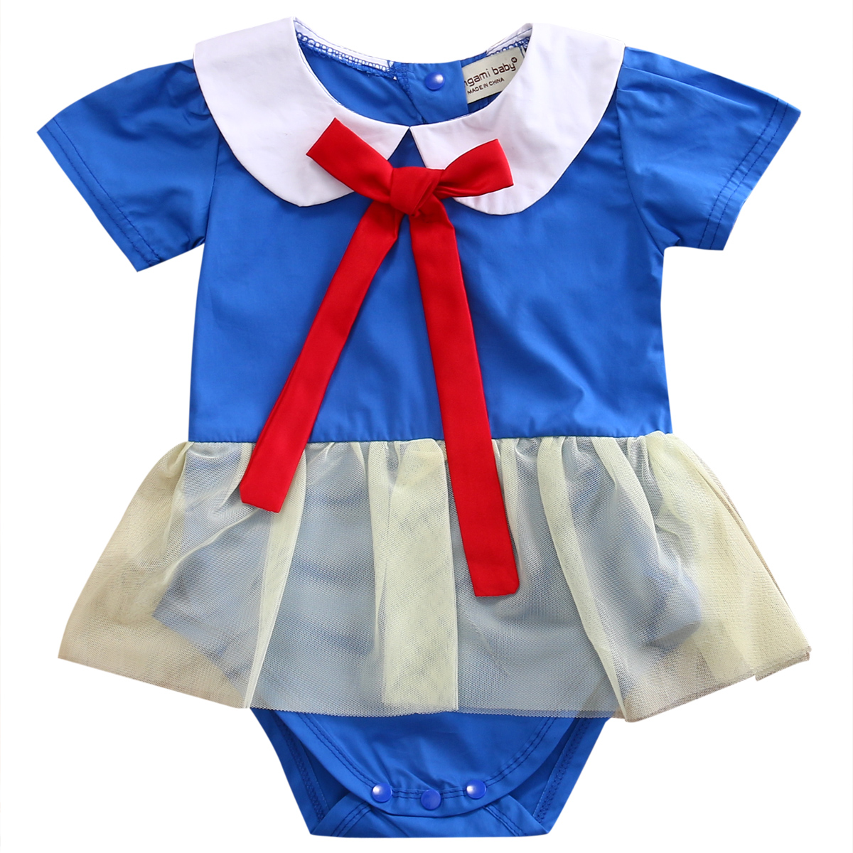 Newborn Infant Toddler Baby Girl Tutu Romper Dress Summer Tie Style Lace Cute Jumpsuit Outfits Clothes0-24 M