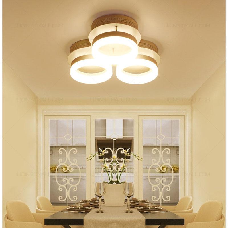 LED Light living room bedroom modern led ceiling lights luminarias para sala dimming led ceiling lamp Fixtures
