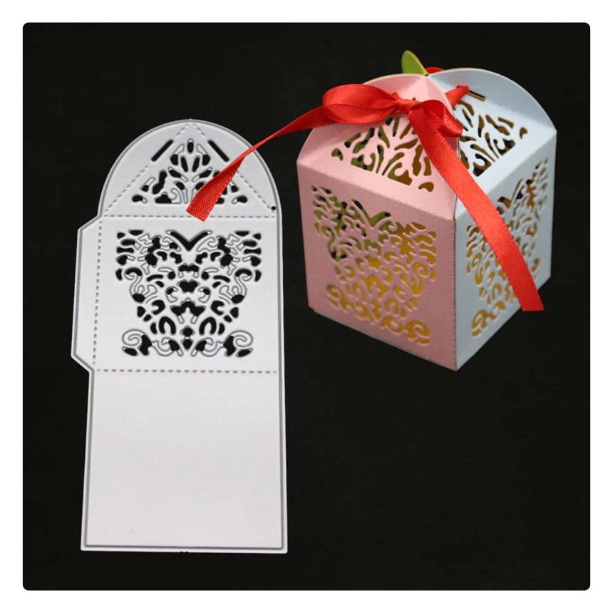 Box Die SCRAPBOOK Metal Cutting Dies For Scrapbooking Stencils DIY Album Cards Decoration Embossing Folder Craft Cut Die Cuts in Cutting Dies from Home Garden