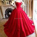 Querida plissado cetim vestido de baile vestidos de Quinceanera vestidos de 15 anos barato