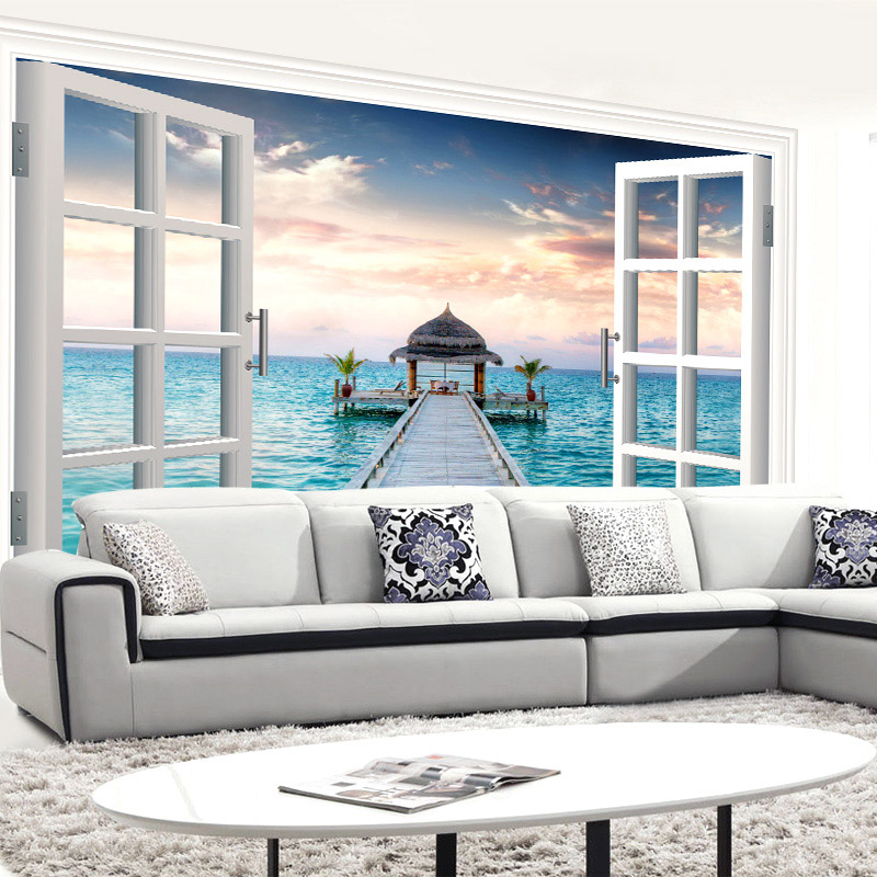 Ocean decor bedroom