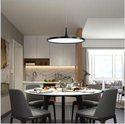 L ristorante Moderno lampadario semplice fashion designer lampada singola testa creativo rotondo nero studio camera led lampada sala da pranzo
