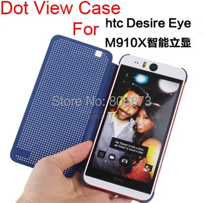buy online 84534 dbe72 Offical Design DOT View Case For HTC Desire Eye M910X , Auto Sleep ...