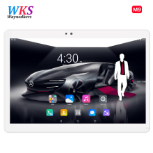 Envío Libre Android 6.0 10 pulgadas tablet pc Octa Core 4 GB de RAM 64 GB ROM GPS 5.0MP 1920*1200 MID Tablets IPS Embroma el Regalo 10.1 10