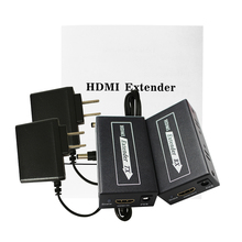 цена на   60m HDMI Extender Transmitter +Receiver Sender Interface  CAT5e/6 Signal Network Cable For DVD PS3 Projector