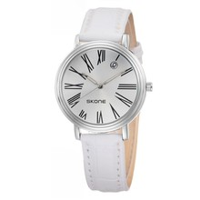 Модельер Бизнес мужские Часы Дата Время Кварцевые Часы Кожа Мужчины Марка Наручные Часы