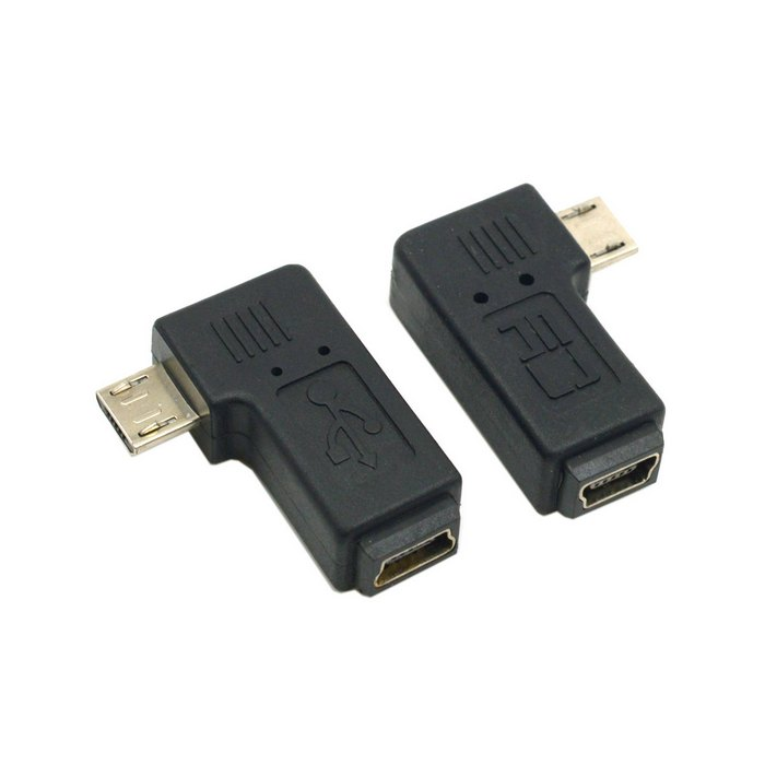 90 Degree Left Amp Right Angled Mini Usb 5pin Female To