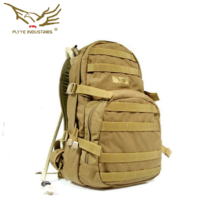 Flyye MOLLE Hydration Packs without liner Backpack CORDURA Multicam AU FG Wargame Airsoft Hunting Tactical Military HN-H007 emersongear lbt2649b hydration carrier for 1961ar molle backpack military tactical bags hunting bag multicam tropic arid black