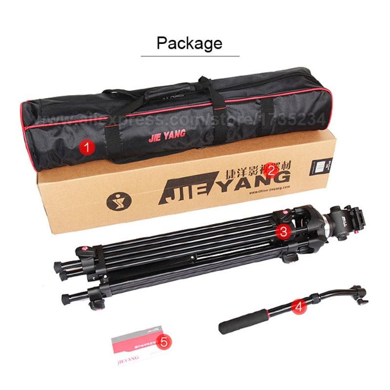 JY0508B 185 cm profesionalni video kamera tronožac s 360 stupnjeva - Kamera i foto - Foto 6