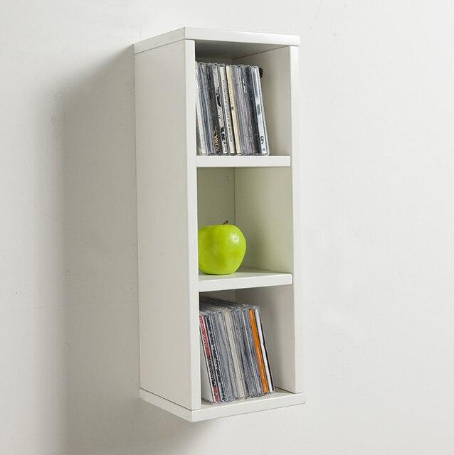 Allstate Easy Wall Storage Shelf CD Rack Creative CD Disc Storage Box 7632