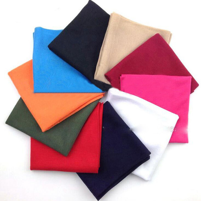 10pcs/lot Free Shipping Retail Various Plain Sports Solid Bandanas Outdoor Elastic Seamless Bandana Solid Scarf Multi Headwears
