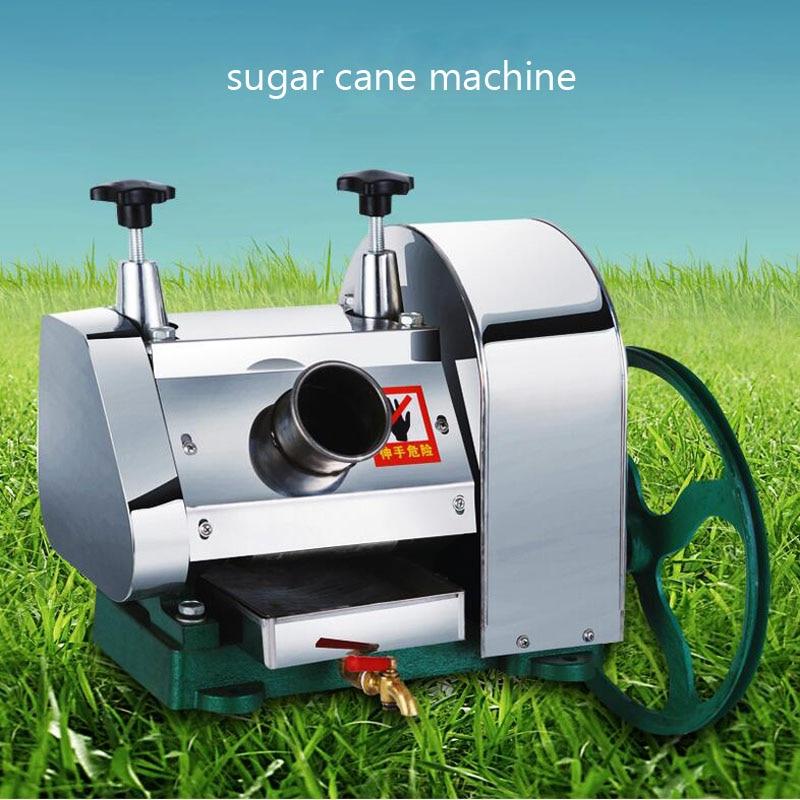 LC SY01 desktop aço inoxidável Hand held máquina de cana de açúcar, cana espremedor de suco, triturador de cana, espremedor de cana 1pc - 2