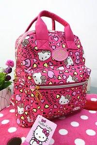 Image 4 - New Cute Hello Kitty Backpack Bag School Bag Purse yey 3303