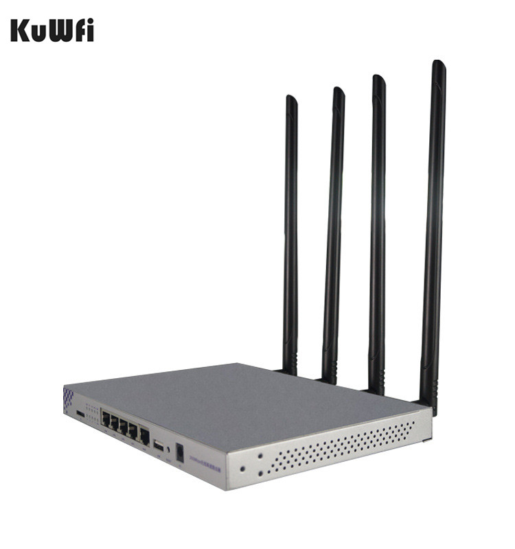 1200Mbps 802.11AC Wireless WiFi Router 2.4G&5G Dual Band Wireless WIFI Repeater 4 7dBi Antenna Support Openwrt USB2.0 Interface