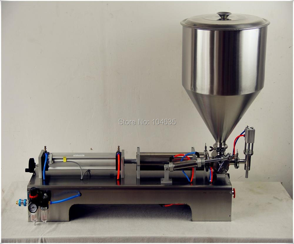 Semi-Automatic Single Head Pneumatic Liquid Shampoo Filling Machine Paste filling machine auto liquid filler 100-1000ML 100 1000ml pneumatic volumetric softdrin liquid filling machine pneumatic liquid filler for oil water juice honey soap