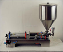 Semi-Automatic Single Head Pneumatic Liquid Shampoo Filling Machine Paste filling machine auto filler,single head liquid filler