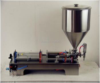 цена на Semi-Automatic Single Head Pneumatic Liquid Shampoo Filling Machine Paste filling machine auto liquid filler 100-1000ML