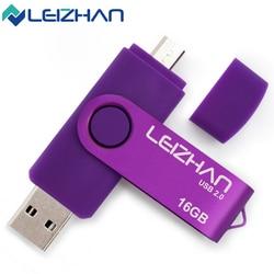 Leizhan 6colors promotion the otg phone usb flash drive universal smart phone otg usb pen pendrives.jpg 250x250
