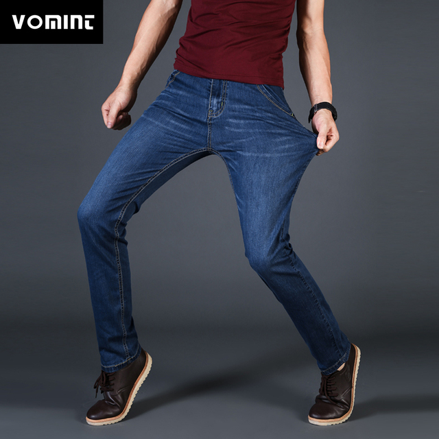 1bb75c5ca4 Vomint-New-Mens-Jeans-Denim-Pantalon-D-t-Mince-Mince-Regular-Fit-Straight- Jeans-lasticit-Extensible.jpg_640x640.jpg