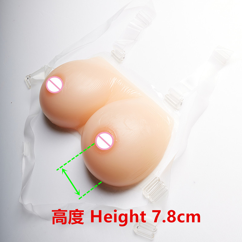 best design new artificial sexy fake silicone breast forms for cross dresser false big boobs drag queen 1600g/pair free shipping