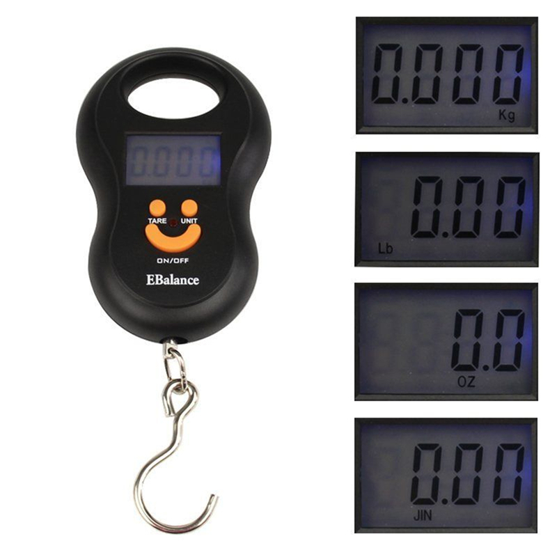 50kg/110LB Coarse Carp Sea Fishing Digital Scale Hanging Spring Scale Measuring Tools
