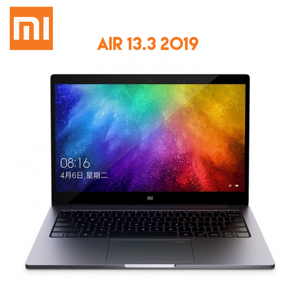 D'origine Xiao mi mi Air 13.3 2019 ordinateur portable Windows 10 Intel Core i5-8250U 8GB RAM 256GB SSD MX250 capteur d'empreintes digitales