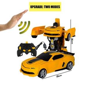 Image 3 - 2019 Горячая продажа 1/14 дистанционный контроль автомобиля датчик жестов деформация rc автомобилей
