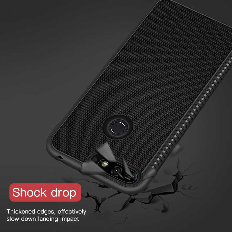 Shockproof Soft TPU Case For Huawei Y9 2019 Y9 Y7 Y6 Prime 2018 P9 P8 Lite 2017 Heat Dissipation Thin Silicone Phone Cover Case