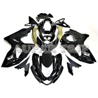 Plastic Motorcycle Shiny Black Body Kit Covers For Suzuki GSXR1000 K9 2009 2010 2011 2012 13 14 15 16 ABS Injection Fairing Kit