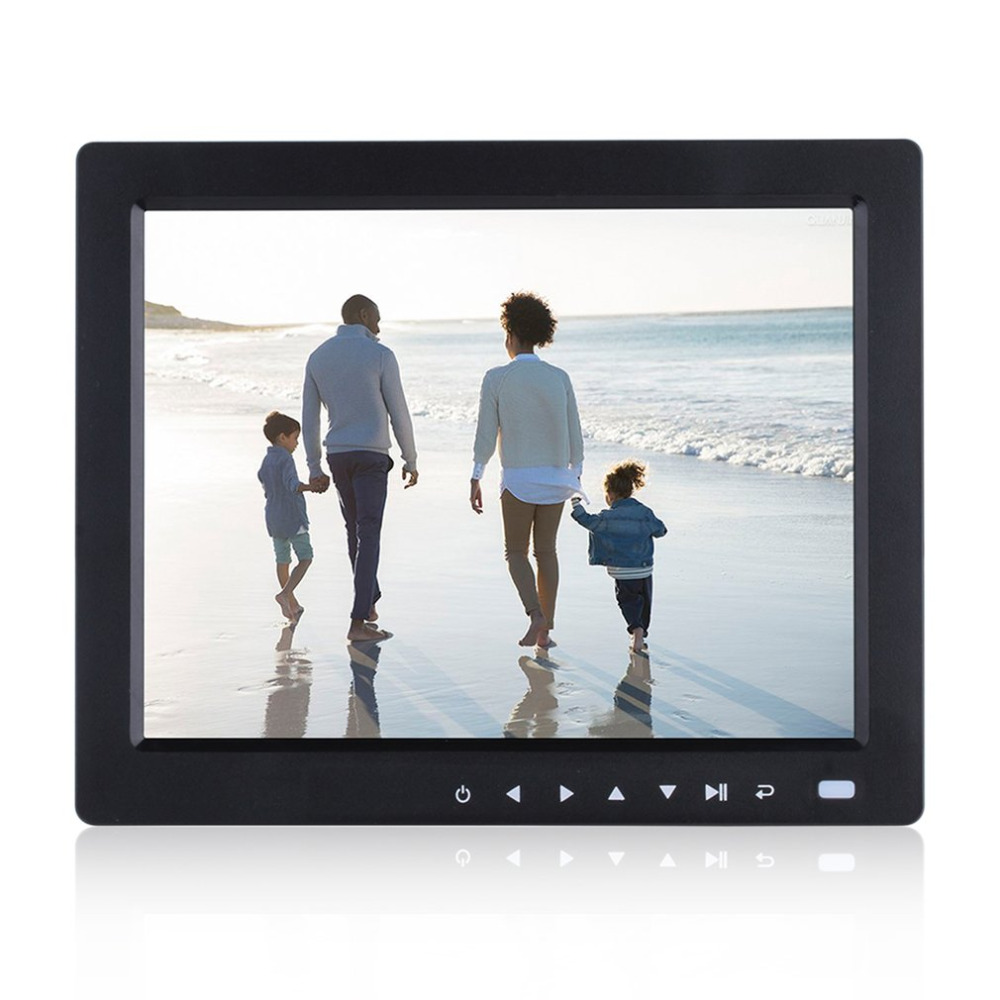 10 inch HD TFT LCD Digital Photo Frame Digital Album with Remote Control with Alarm Clock Music Video Player With Stand Bracket digital video player 7inch hd lcd digital photo frame with alarm clock slideshow mp4 player bk media player with screen tw