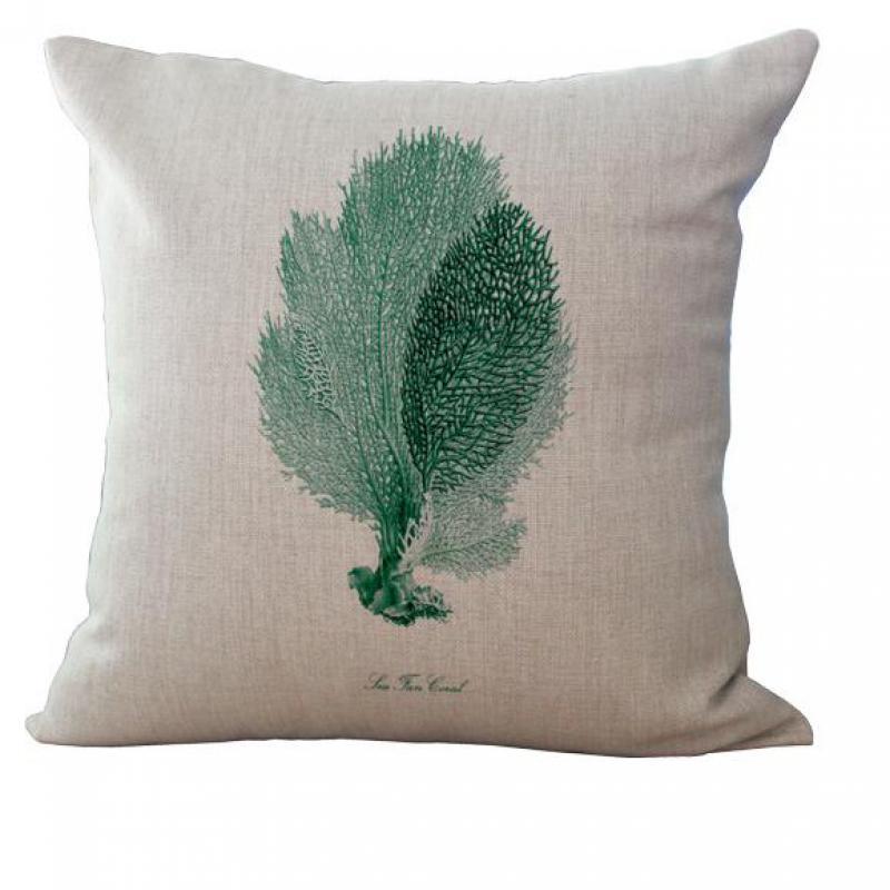 Large Floor Pillows Cotton : 45*45cm Large Size New Nordic Chritsmas Blue Marine Cotton Linen Pillow Car Creative Pillows ...