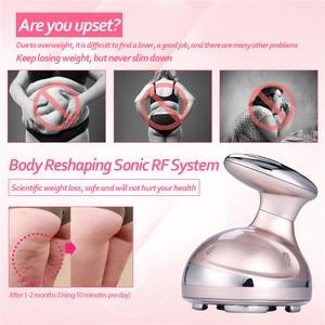 Image 3 - LED Ultrasonic Cavitation RF Body Slimming Machine Fat Burner RF Radio Frequency Anti Cellulite Lipo Ultrasound Massager Beauty