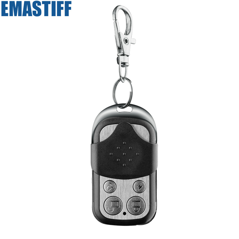 Wireless alarm High-performance Portable Remote Control 4 Buttons For GSM PSTN Home Alarm System