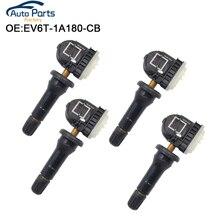 4 PCS Tire Pressure Sensors TPMS For Ford B-Max C-Max Mondeo Kuga Grand Focus Fiesta 433MHz EV6T-1A180-CB EV6T-1A150-CB