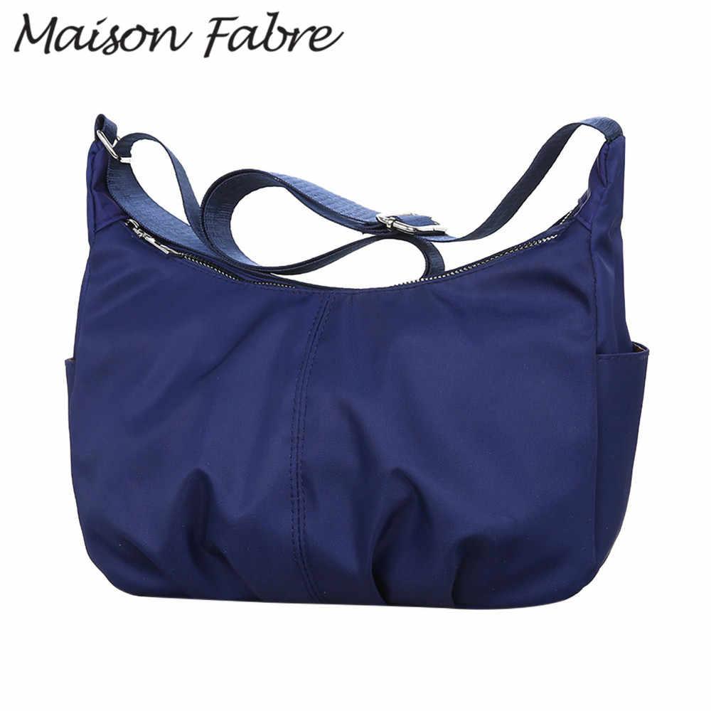 Maison fabre bolsa feminina oxford ombro alça alças saco à prova dlarge água telefone grande capacidade 2019 senhoras bolsas crossbody